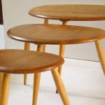 Pebbels tables by L. Ercoloni
