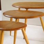 Pebbels tables by L. Ercoloni