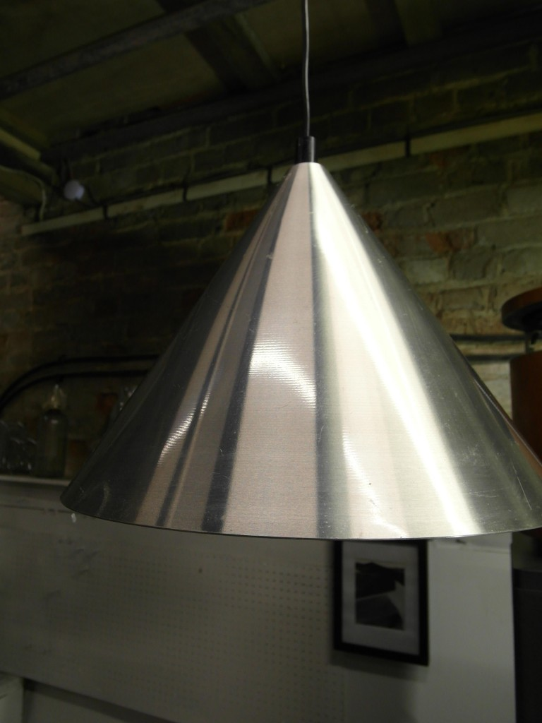 Aluminium Light Shade £25 SOLD