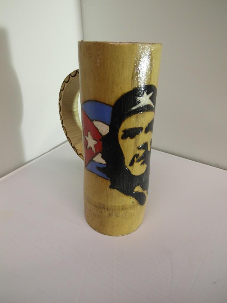 Bamboo Che Guevara Lattte Mug from Cuba £25
