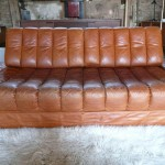 Vintage De Sede Daybed in Cognac Buffalo Hide £1450 SOLD