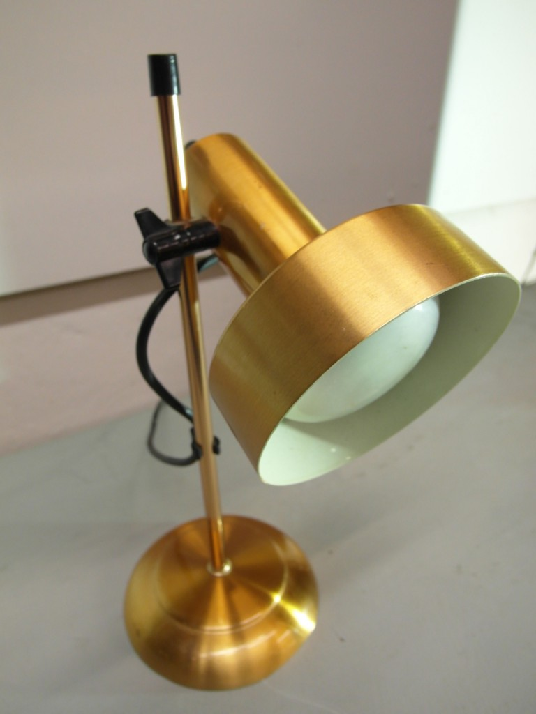 Vintage Danish Copper Desk lamp £65 SOLD