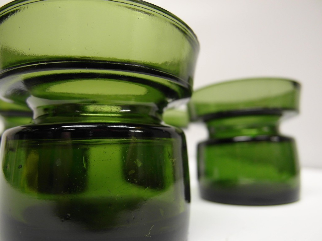 Dansk Glasss candle Holders £15 each