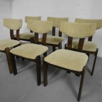 Set of Six Farstup Dining Chairs By KOFOD LARSEN £395 SOLD