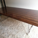 "Vintage 1970s Gordon Russsell ""Prestige"" Rosewood and Chrome Table £1000SOLD"
