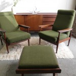"Pair of matching Guy Rogers ""Manhatten"" High Back Armchairs £295 SOLD"