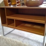 Teak and Aluminium sideboard by Jacob Jenson for Bang and Olufsen £295 SOLD
