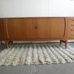 Danish Solid teak Sideboard By Johannas Anderson £1795 SOLD
