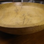 Hand Turned Oak Bowl by Luke Gardiner £275