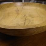 Hand Turned Oak Bowl by Luke Gardiner £275