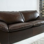 Vintage Leolux Sofa in Brown Calf Leather £695