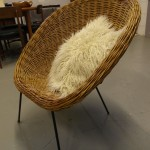 Vintage Dick Van Sieedrect Rattan Chair for ROHE £250 SOLD