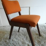 1950's French Salon Chair in Afromosia £65SOLD