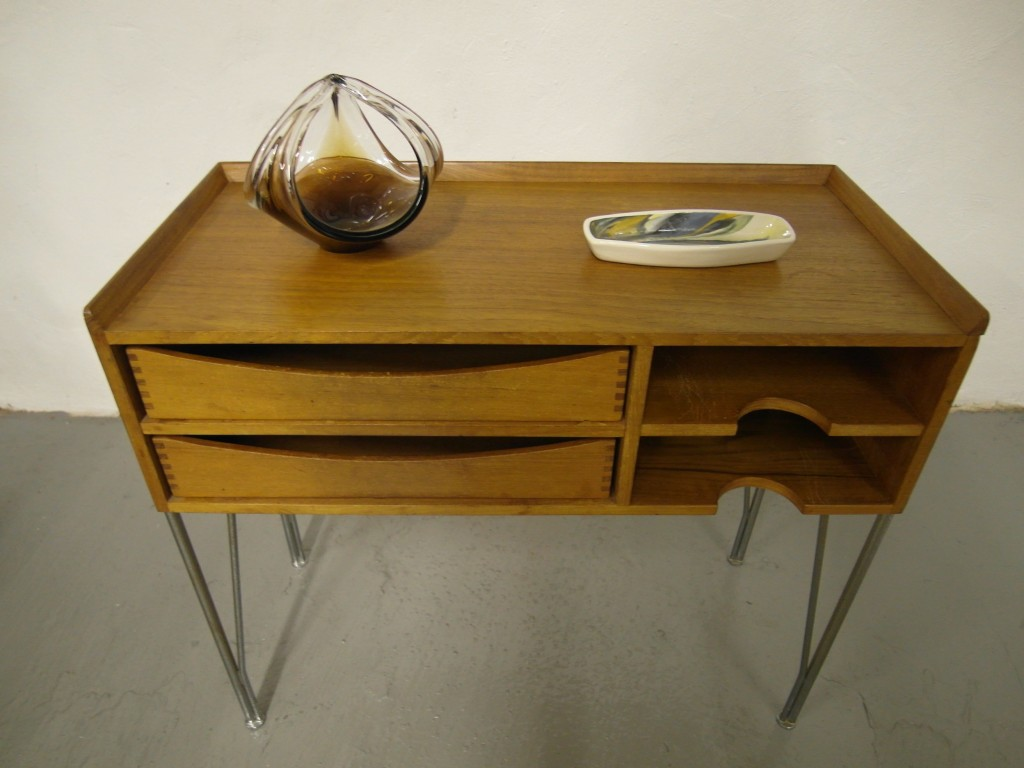 Arne Vodder Solid Teak Hall Cabinet £495 SOLD