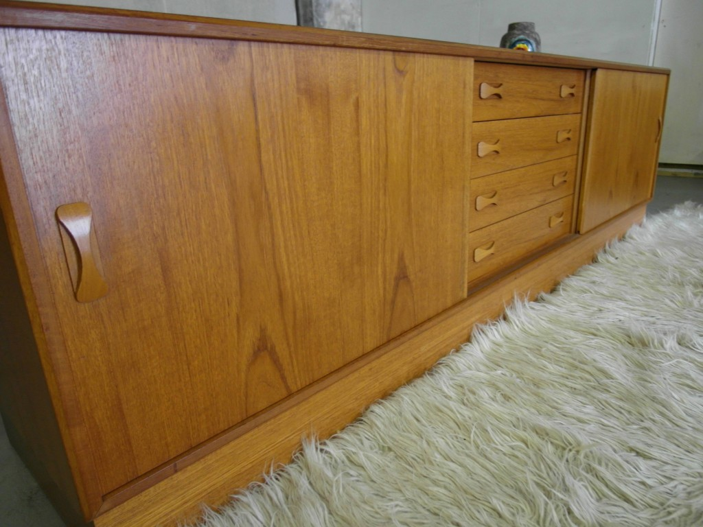 Long Sideboard /Media Unit by Clausen & Sons in Teak  £395