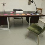 1970s Danish Modern rosewood and Chrome Desk £695 SOLD