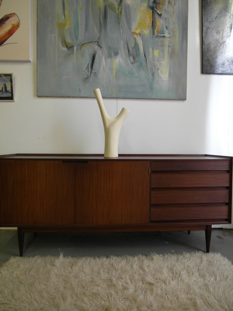 Rare Richard Hornby Long Sideboard In Solid Afromosia £695 SOLD