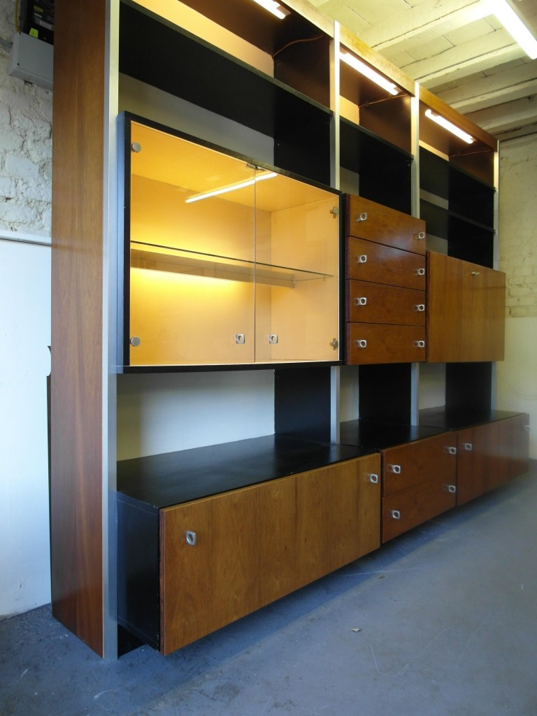 1970?s Danish Rosewood and Aluminium Modular System by Jacob Jensen £895 SOLD