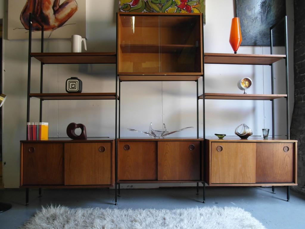 Vintage 1960's Modular Shelving System / Room Divider £675 SOLD