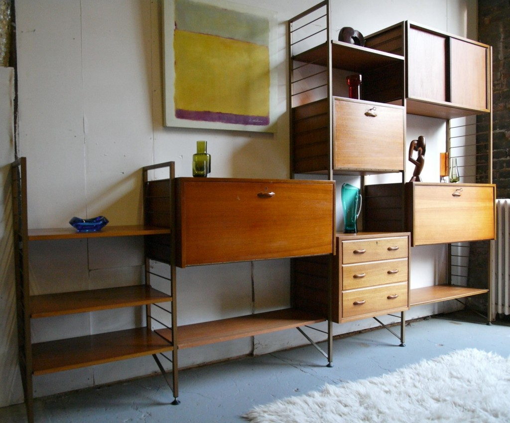 Four Bay Ladderax Shelving System £695 SOLD