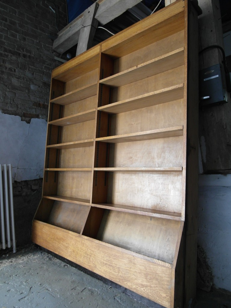 Solid Oak Vintage Library Bookcase £595SOLD