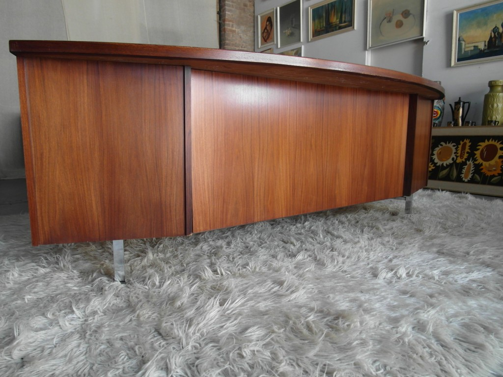 Bespoke Danish Rosewood Executive Desk £850