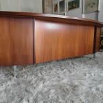 Bespoke Danish Rosewood Executive Desk £850
