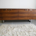 Gordon Russell GR Series Sideboard in Rio Rosewood and Chrome £2500 SOLD