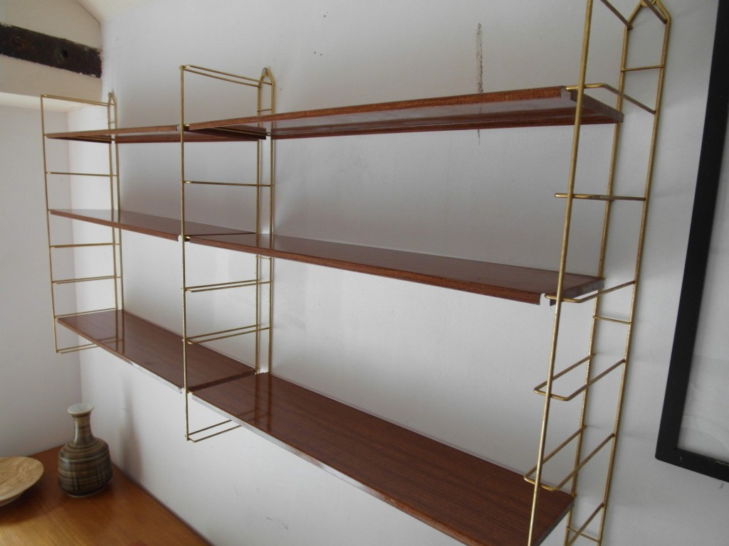 Four Bay Tomado Shelving with 11 Shelves £250SOLD