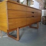 "Vintage Uniflex ""Q"" series Sideboard By Gunther Hoffstead in Teak £375SOLD"