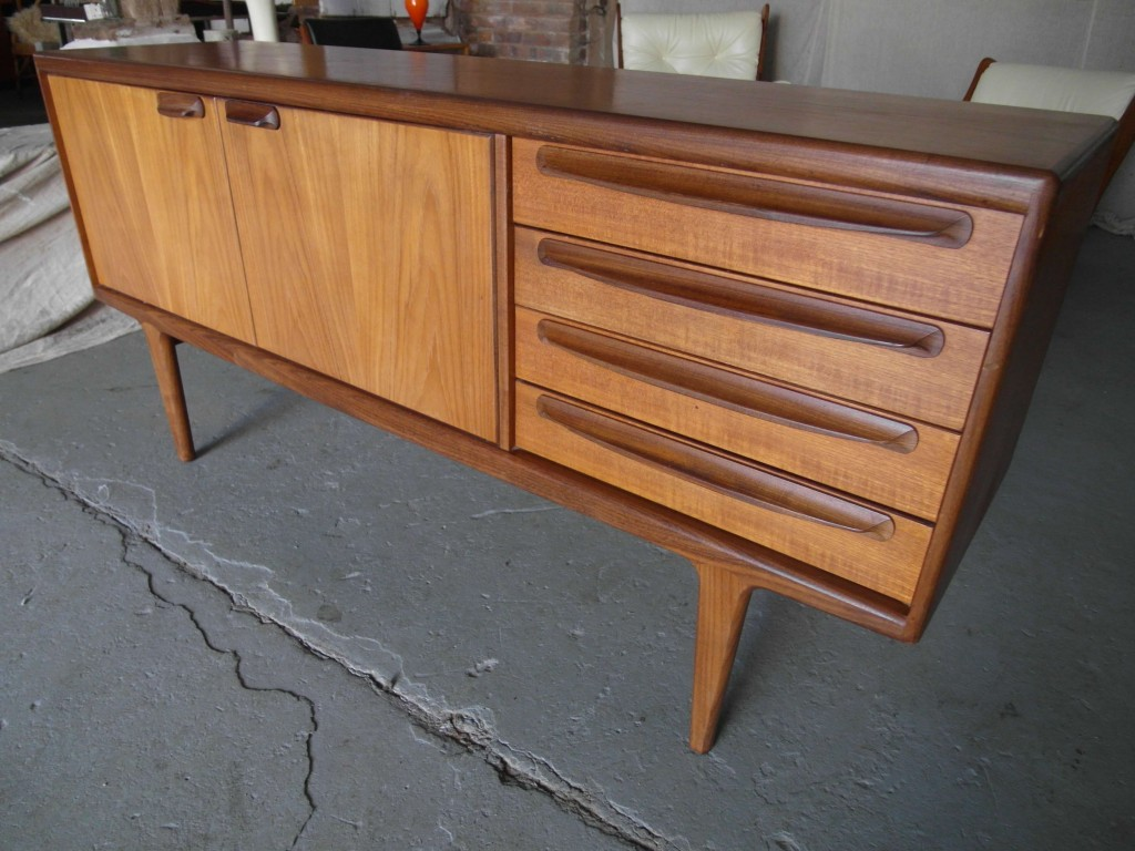 Younger Danish Sideboard in Teak and Afromosia by John Herbert £295 SOLD