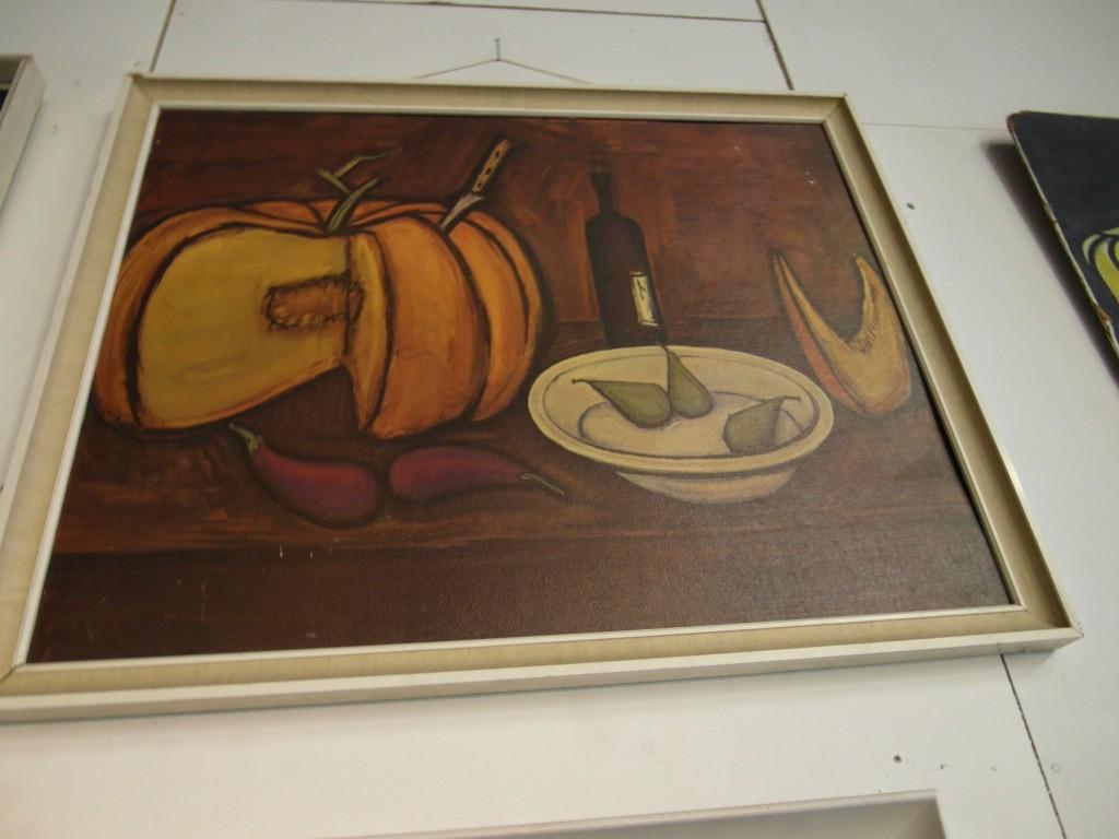 """1970's Vintage Bernard Buffet """"Still Life"""" in original frame £75"""