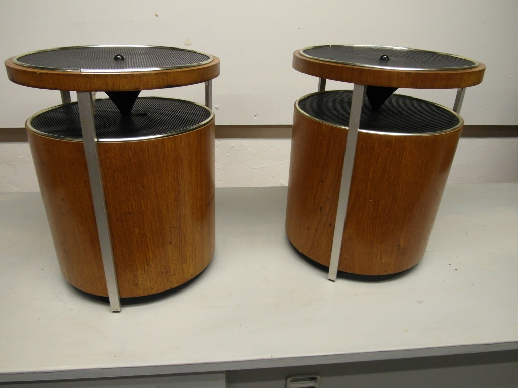 Vintage Kolster Bamboo Speakers £95 SOLD