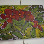 "`Oil on Canvas ""Poppies"" £365"
