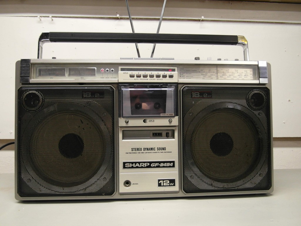 1980's Sharp Ghetto Blaster with ipod Input £145 SOLD