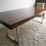 "Vintage 1970s Gordon Russell 'Prestige"" range Rosewood and Chrome Table £1000 SOLD"