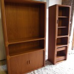 "Very Rare  Large And Small 1970's Dyrlund Tambour Door ""Lozenge"" units £600 SOLD"