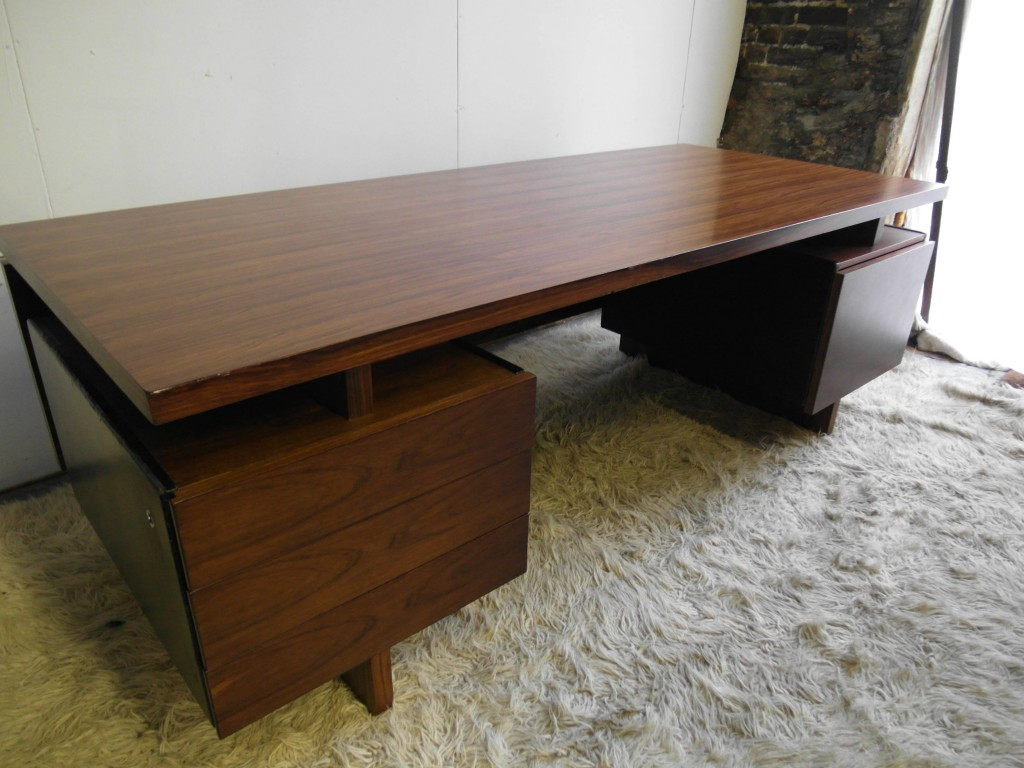 Vintage Gordon Russell GR3 series Conference desk in Brazilian Rosewood £1400 SOLD