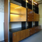1970's Danish Rosewood and Aluminium Modular System by Jacob Jensen £895 SOLD