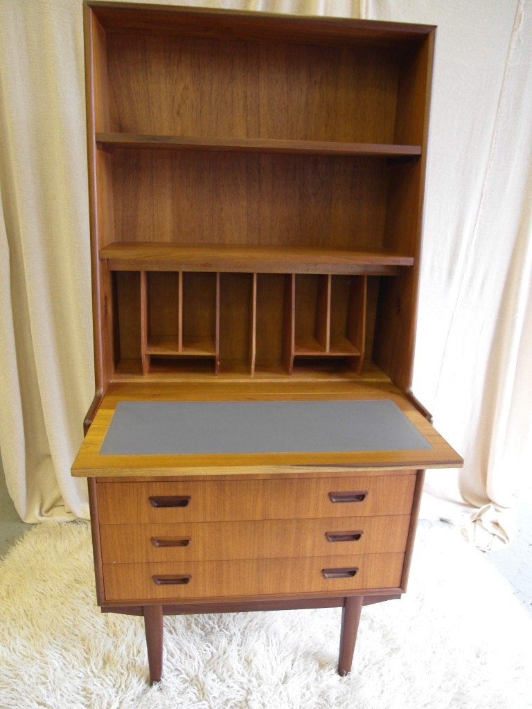 Vintage Danish Bureau in Teak £200 SOLD