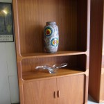 Very Rare large and small 1970's Dyrlund Tambour Door units £600 SOLD