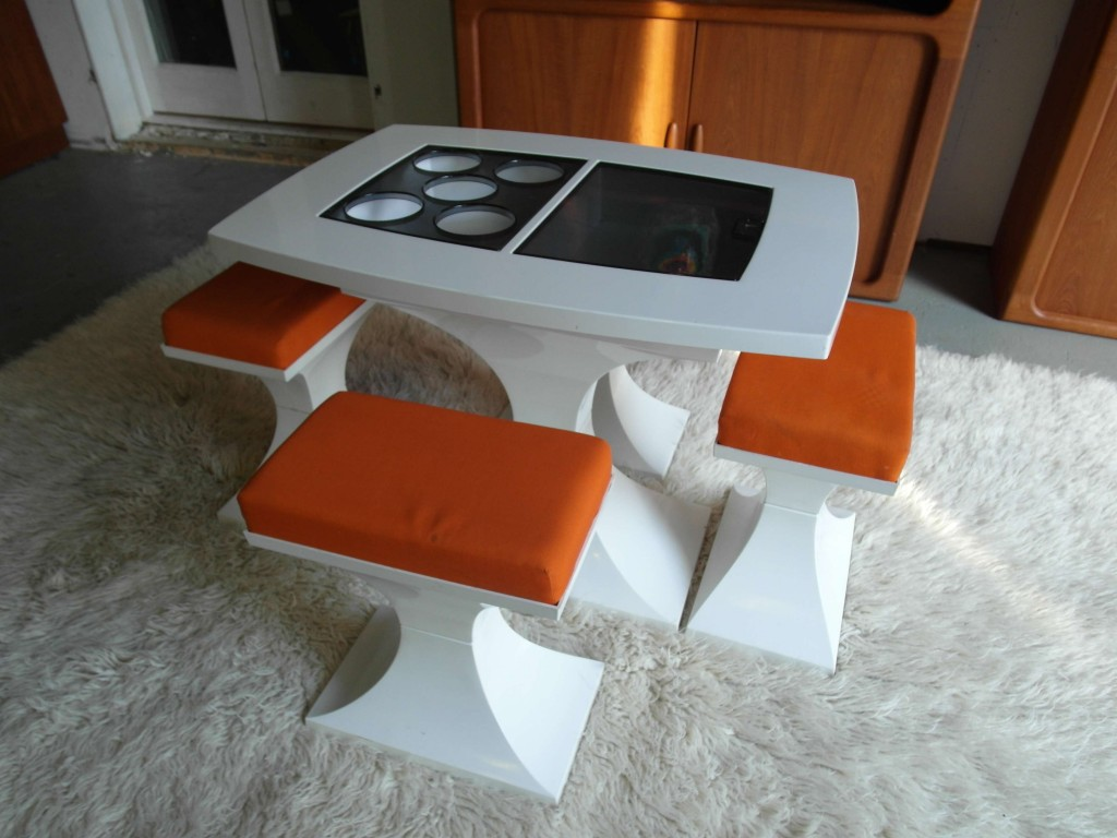Rare 1970's Dutch Acrylic Plastic Table Set £295SOLD