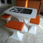 Rare 1970's Dutch Acrylic Plastic Table Set £295SOLD