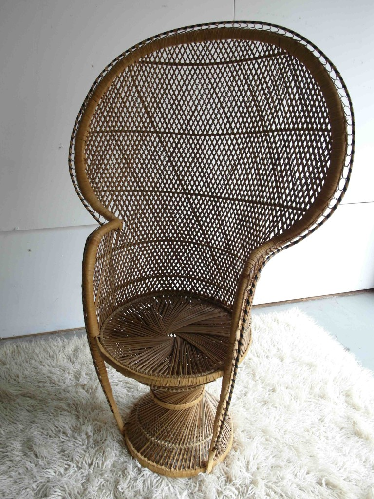Vintage 1970's Peacock Chair £125