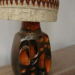 Rare Vintage West German Lava Lamp by Kera Keramik with Original Shade £190 SOLD