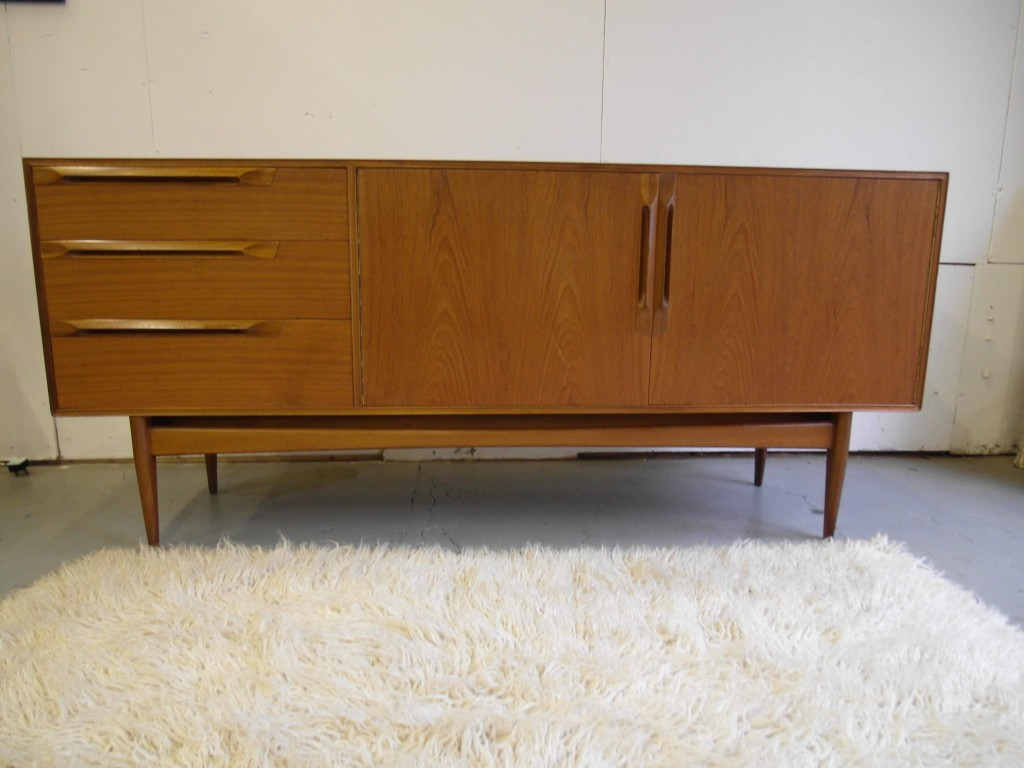 Vintage Danish Teak Sideboard with Classic Mid Century Design £495