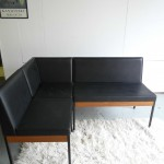 Vintage Knoll Style Modular Bench Seats ( with formica dining table ) £295