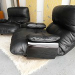Matching Pair of Ligne Roset Chairs by Michel Ducaroy In Mint Condition £1185