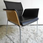 Vintage Wilkhahn Executive Desk Chair in Leather and Chrome  £100SOLD