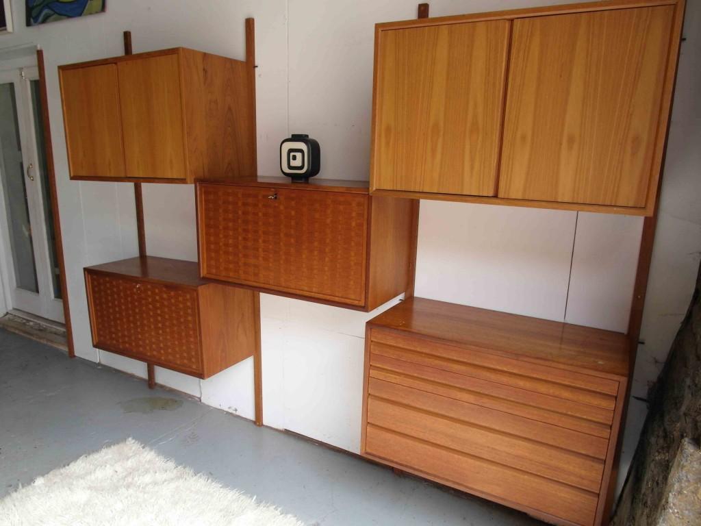 Vintage Poul Cadovius Danish Storage System £695 SOLD